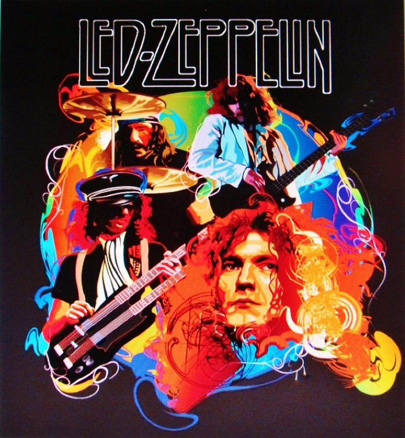 Led Zeppelin Art Photograph By Donna Wilson