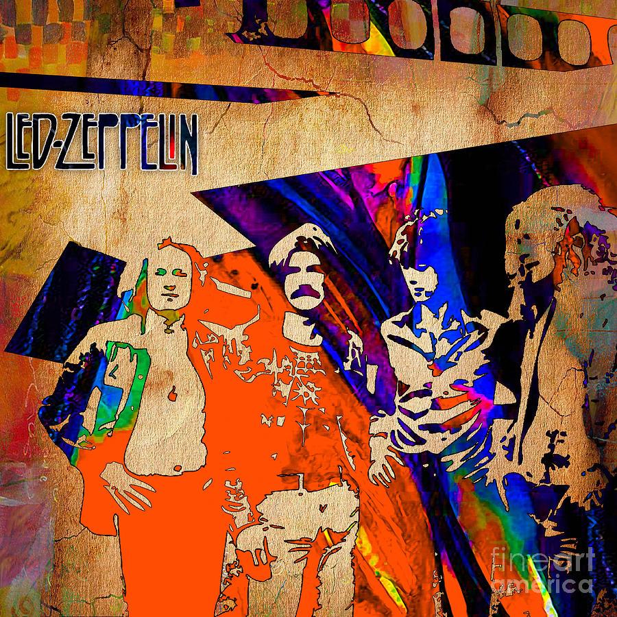 Led Zeppelin Home Decor