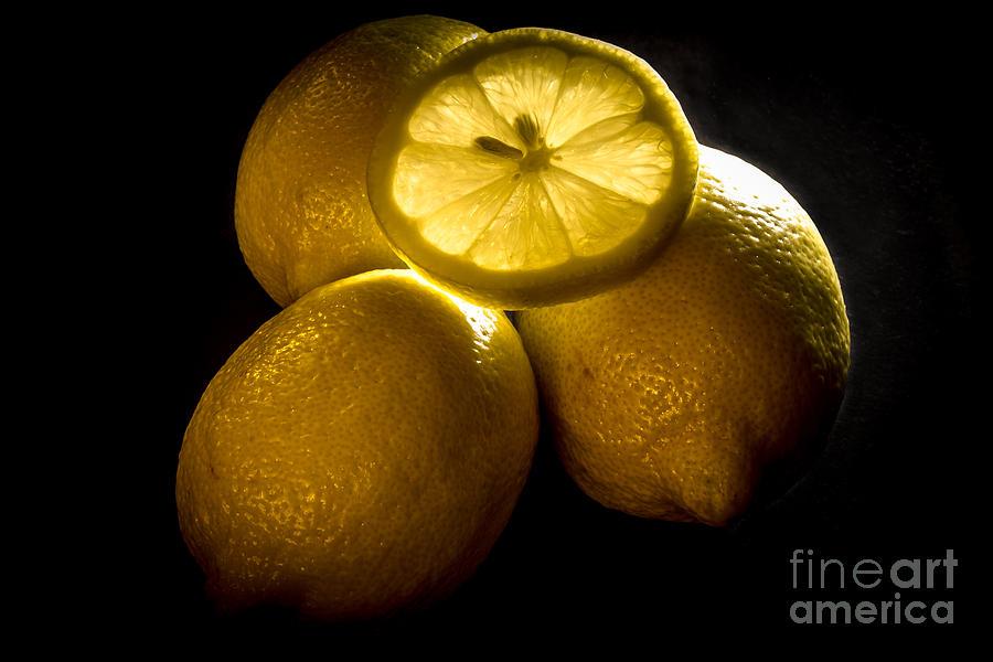 Lemon Photograph - Lemons by David Rucker