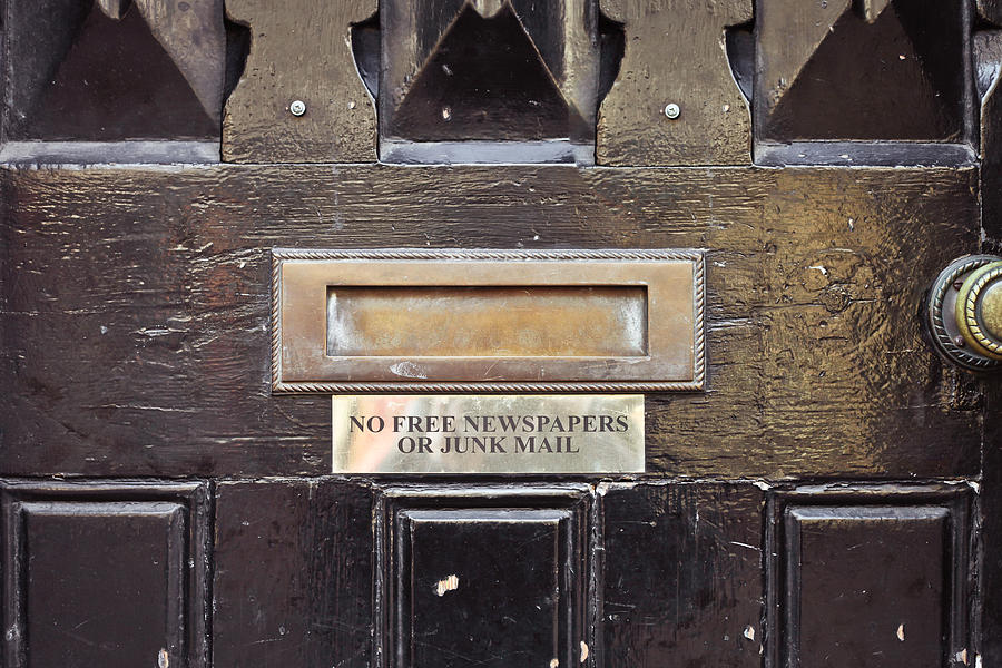 Box Photograph - Letterbox by Tom Gowanlock