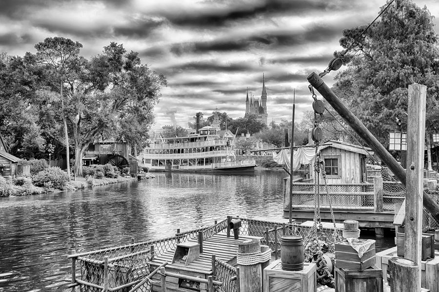 Nature Photograph - Liberty Square Riverboat by Howard Salmon