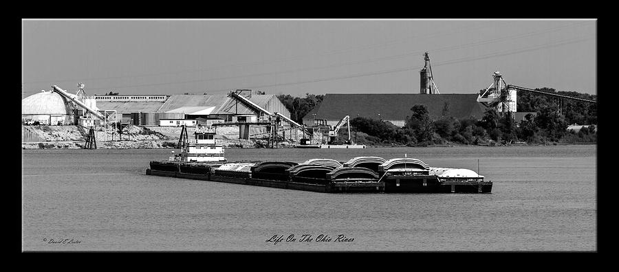 David Lester Photograph - Life On The Ohio River by David Lester