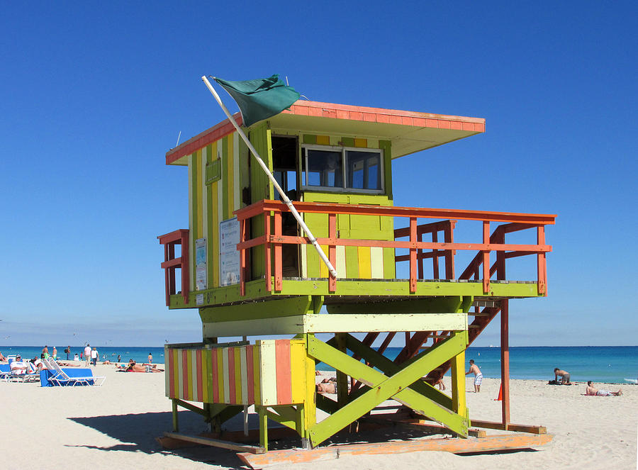 Lifeguard Photograph - Lifeguard Stand by Rosie Brown