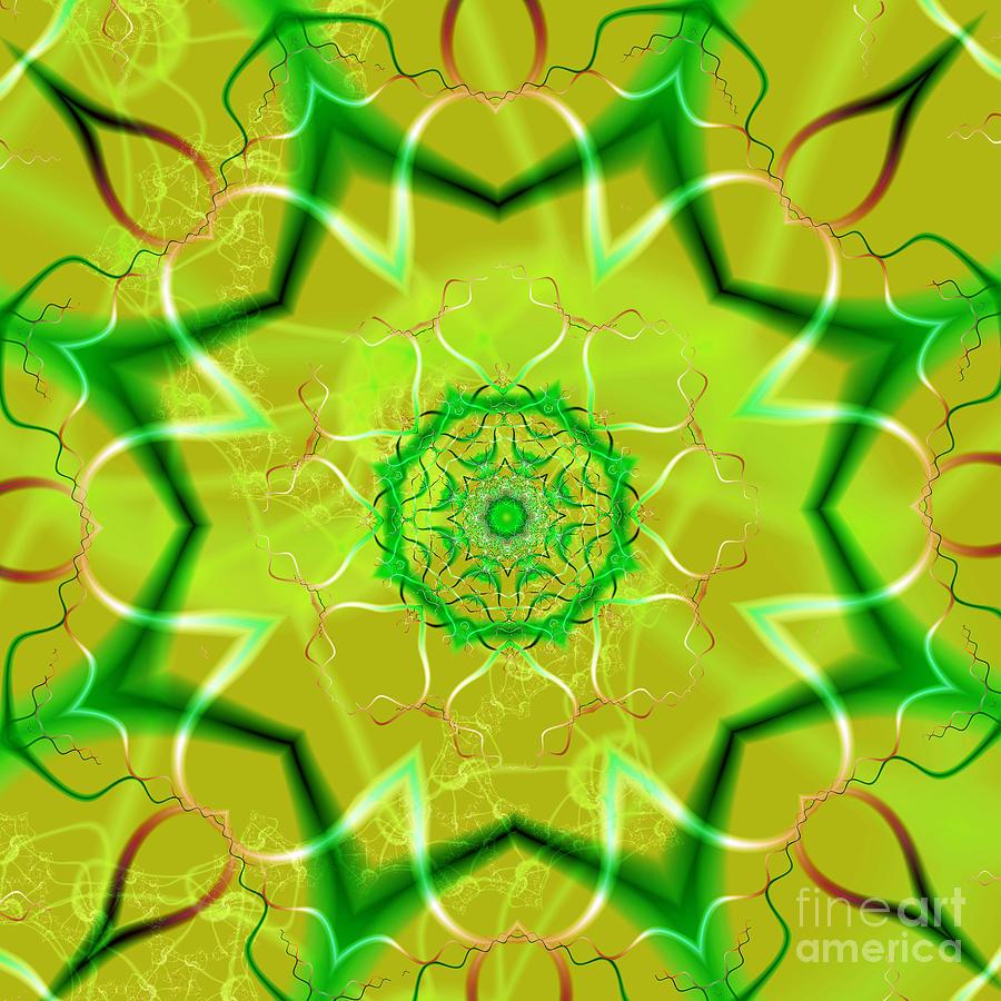 Light Flower Digital Art