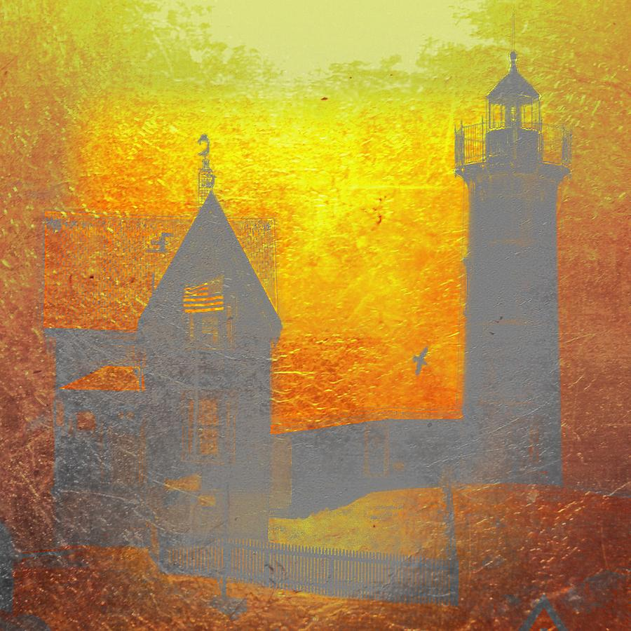 Lighthouse Photograph by Angel Eowyn
