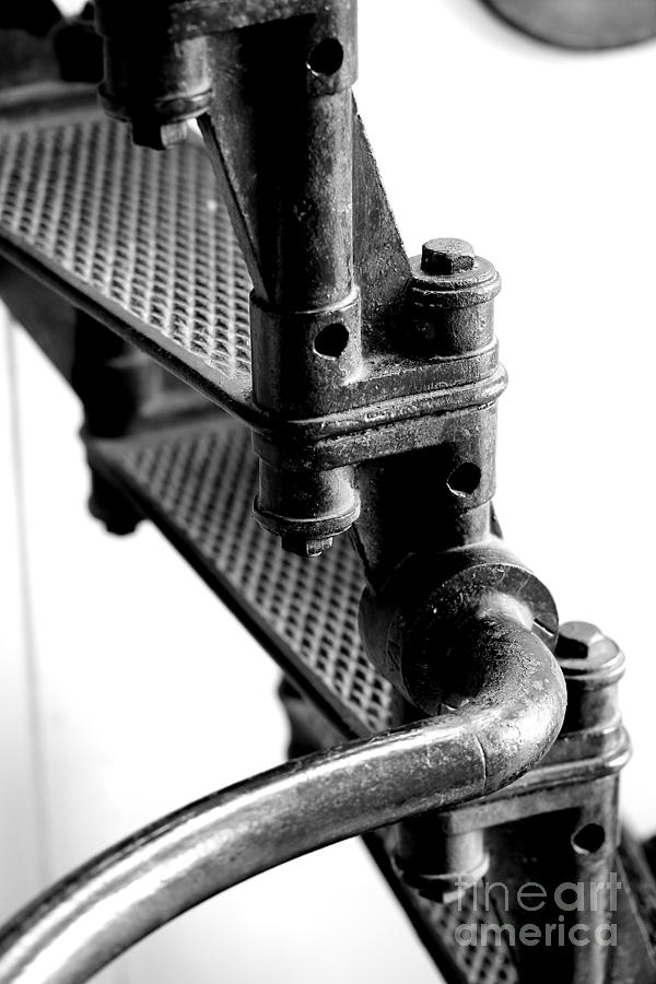 Lighthouse Stairs Photograph