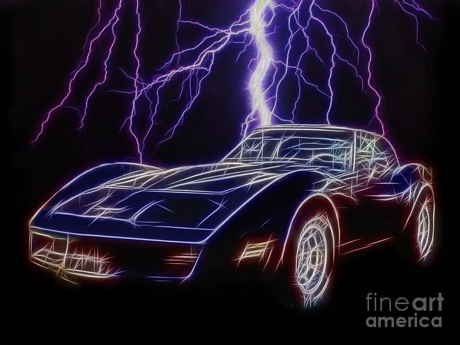 Car Photograph - Lightning Fast by JohnD Smith