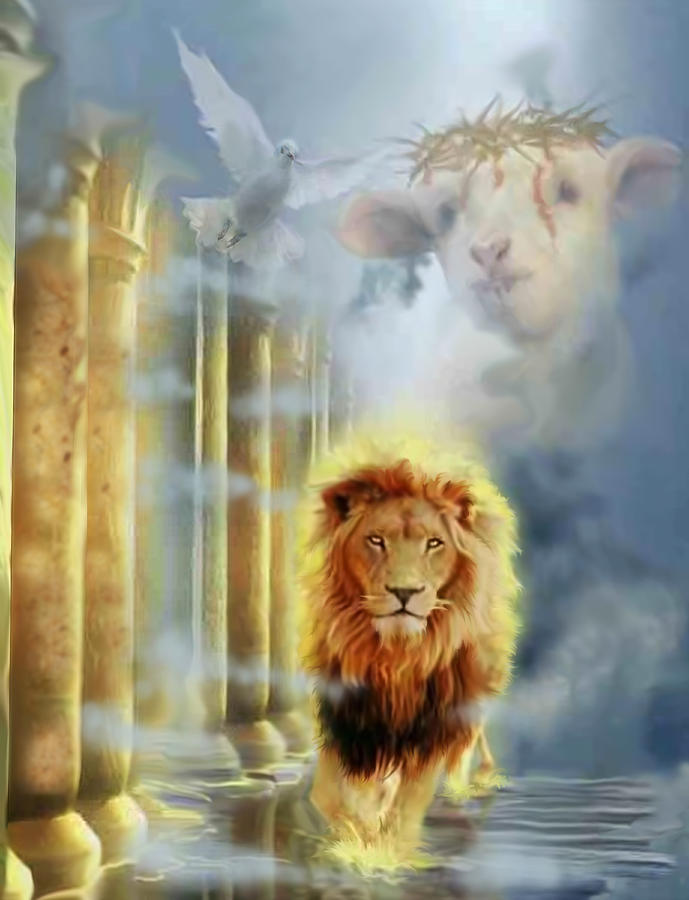lion of Judah Digital Art by Ricardo Colon