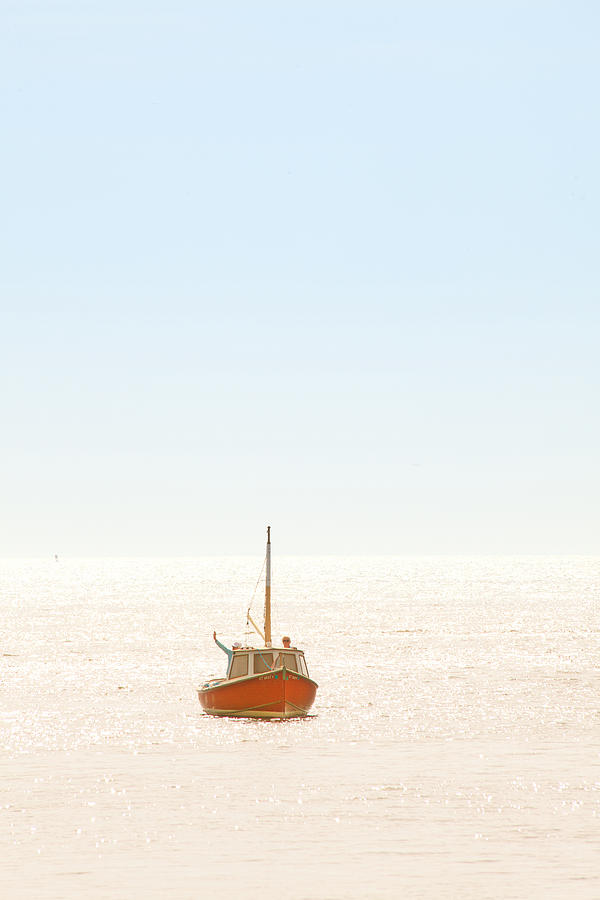 Boat Photograph - Little One by Karol Livote