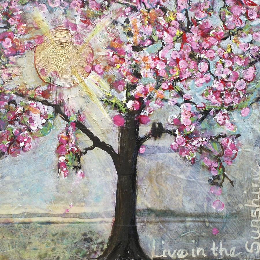 Sun Painting - Live In The Sunshine by Blenda Studio