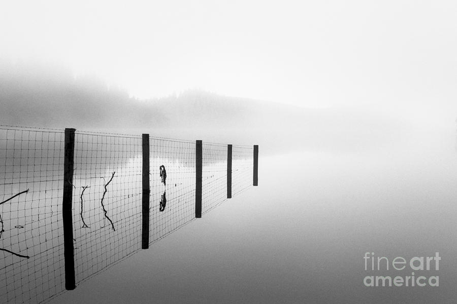 Scottish Landscape Photograph - Loch Ard Early Mist by John Farnan