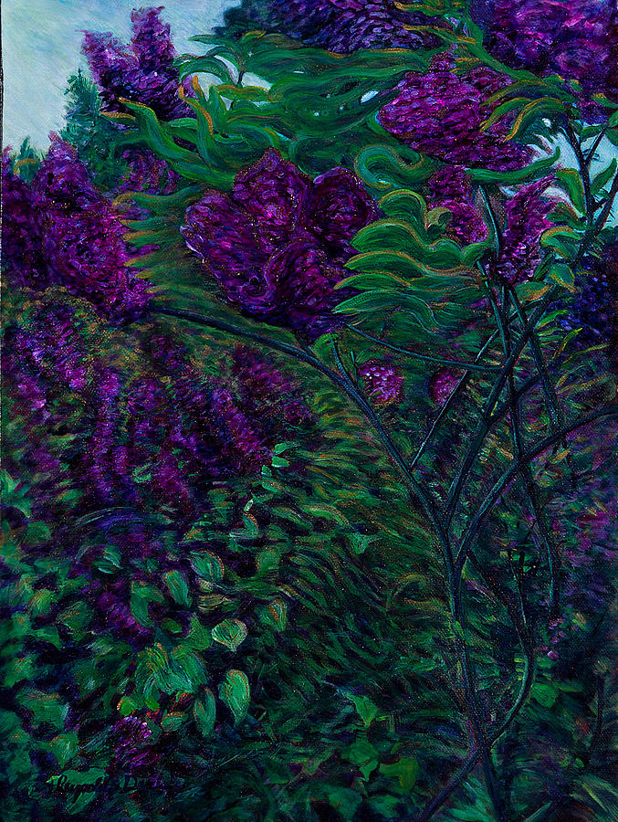 Lois Loves Lilacs by J Reynolds Dail