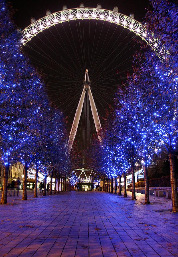 London Eye Photograph - London Eye by Stephen Norris