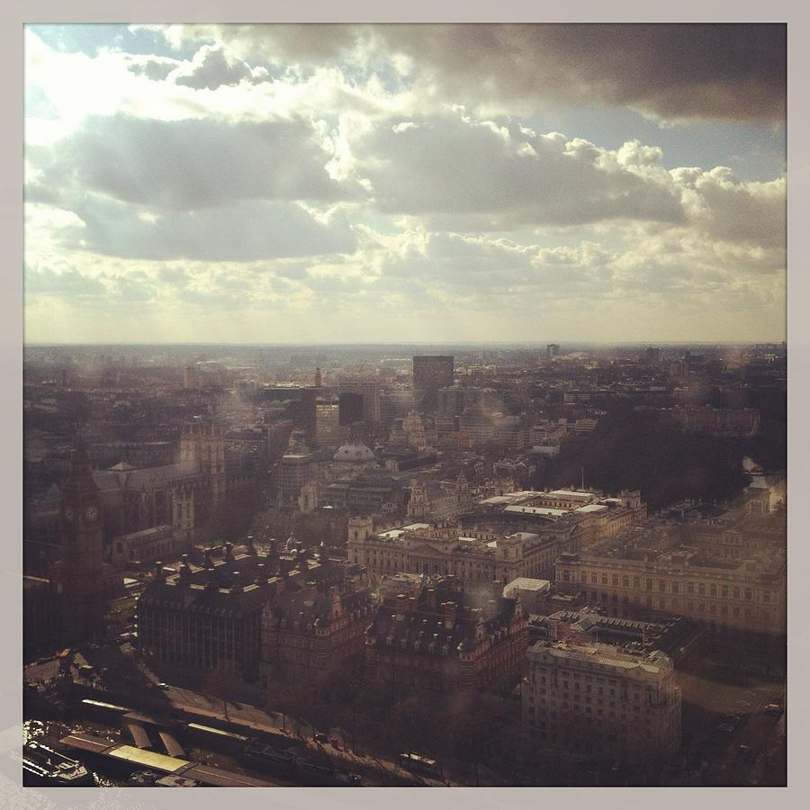 London Photograph - London Skyline  by David  Simmons