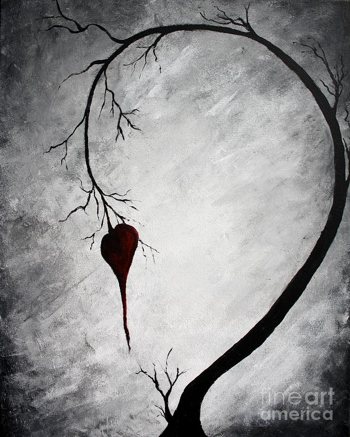 Lonely Heart Painting - Lonely Heart by Michael Grubb