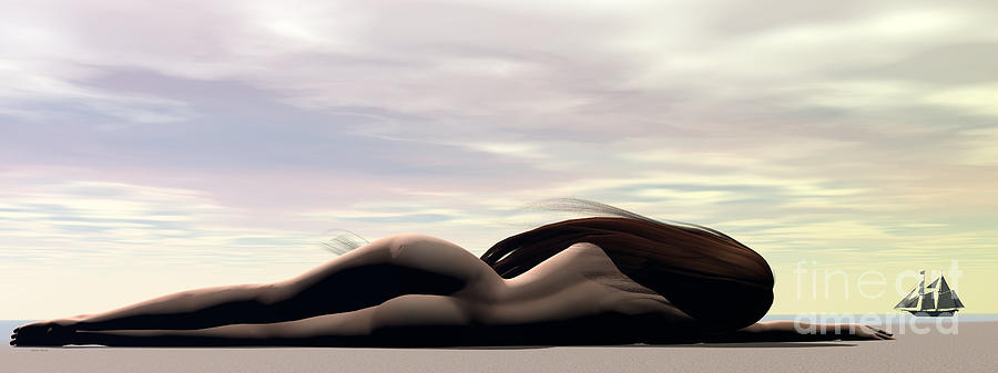 Longing Digital Art by Sandra Bauser Digital Art
