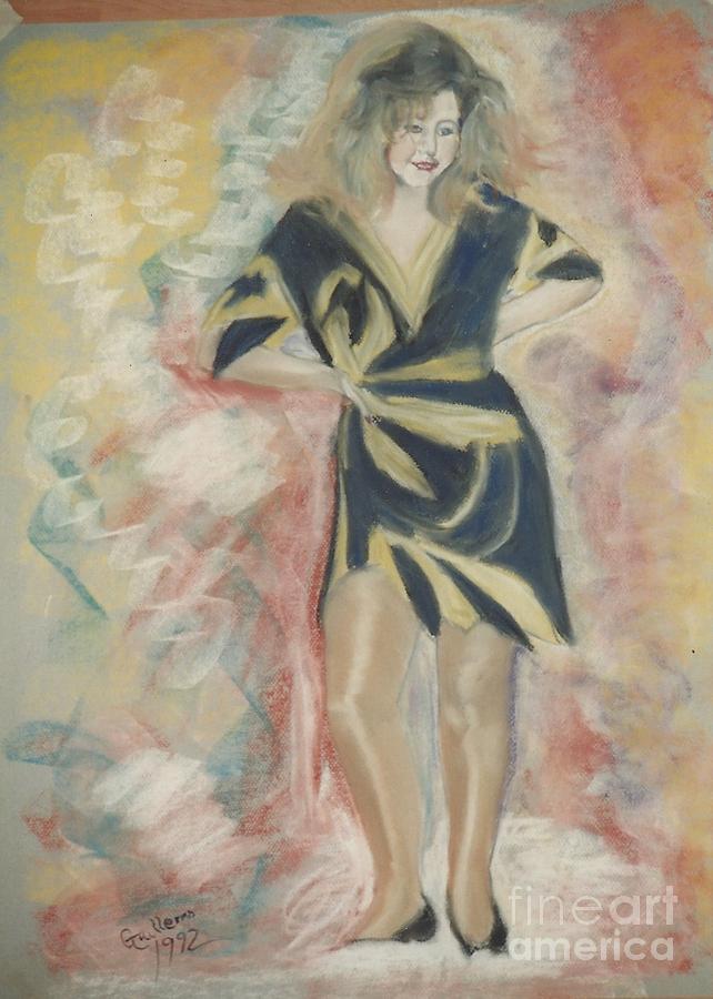 Look At Me Pastel by Bill McDonald