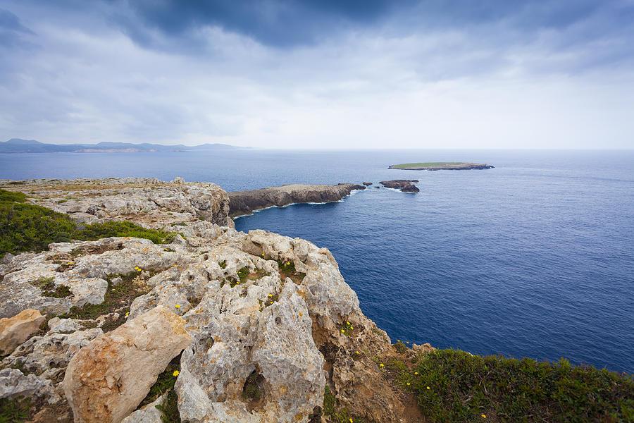 Sea Photograph - Looking At The Sea by Antonio Macias Marin