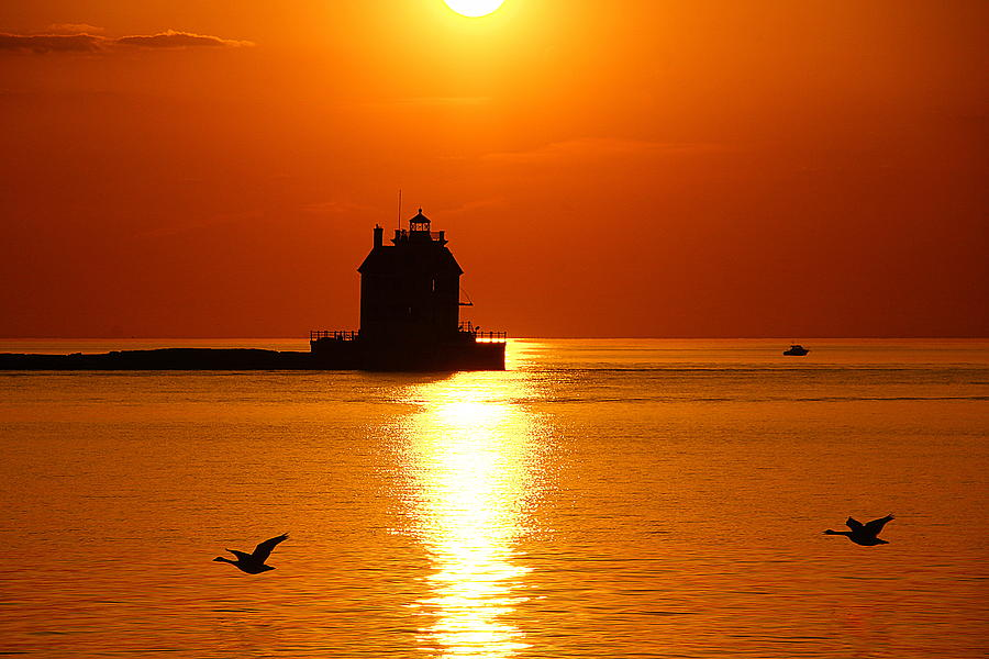 Lorain Harbor Photograph by Robert Bodnar