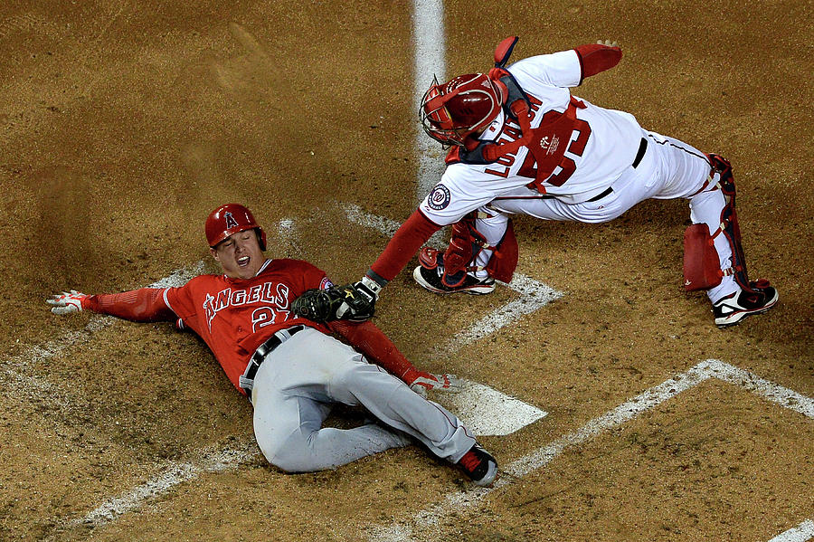 Los Angeles Angels Of Anaheim V 1 Photograph by Patrick Smith