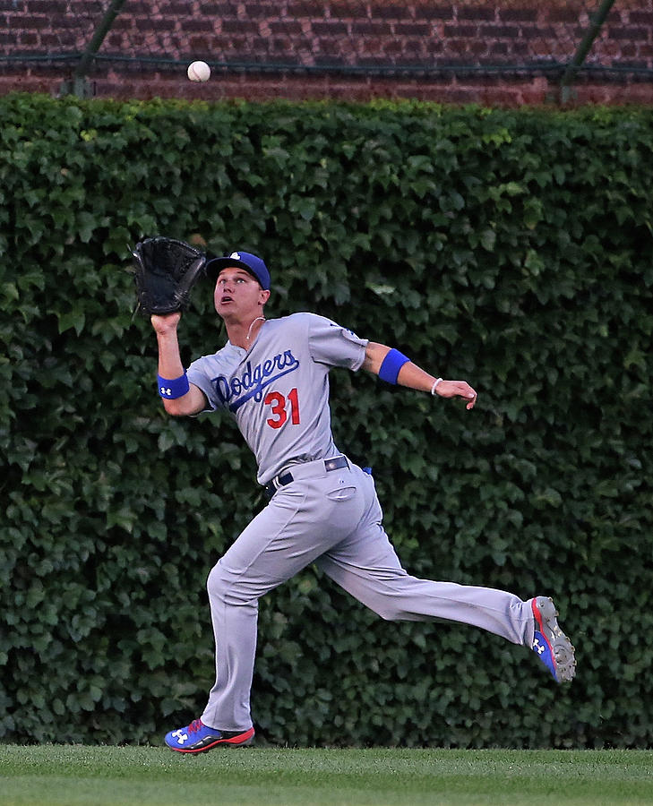 Los Angeles Dodgers V Chicago Cubs 1 Photograph by Jonathan Daniel