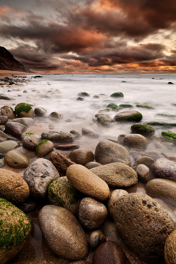 Rocks Photograph - Lost In A Moment by Jorge Maia