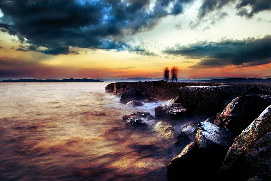 Sea Photograph - Lost Souls by Ivan Vukelic
