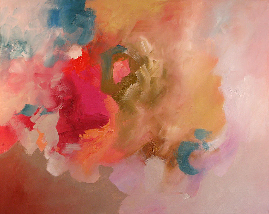 Abstract Painting - Lost Symphony by Linda Monfort