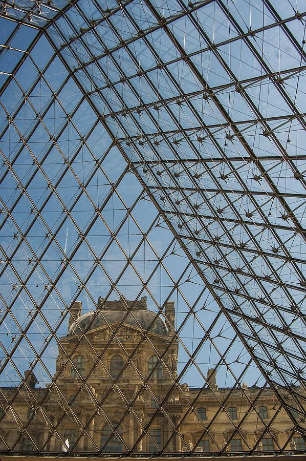 Louvre Photograph - Louvre In Paris France by Pam  Elliott