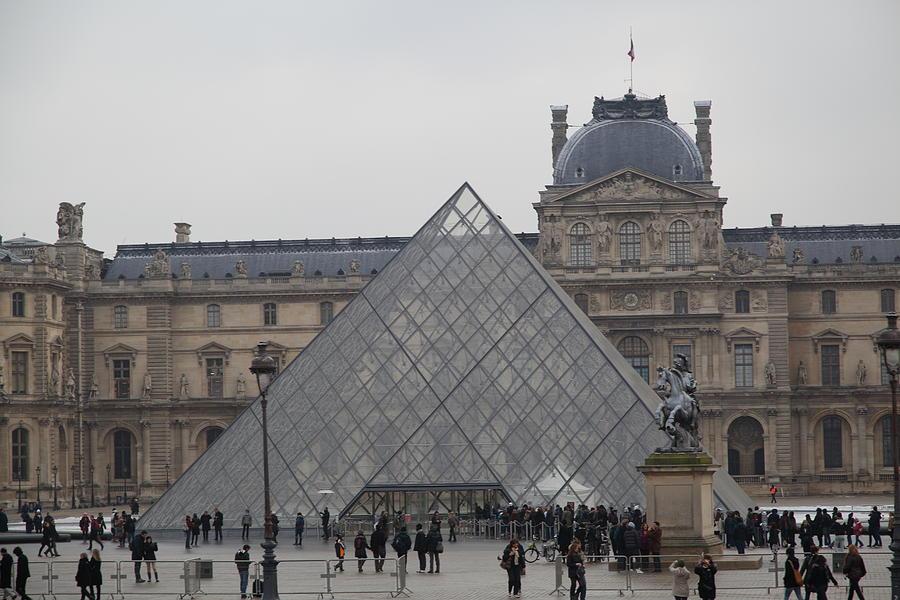 Paris Photograph - Louvre - Paris France - 011313 by DC Photographer