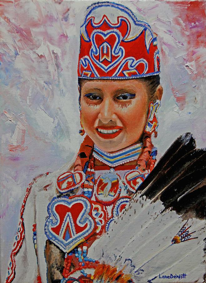 Luise�o Painting - Luiseno by Lane DeWitt