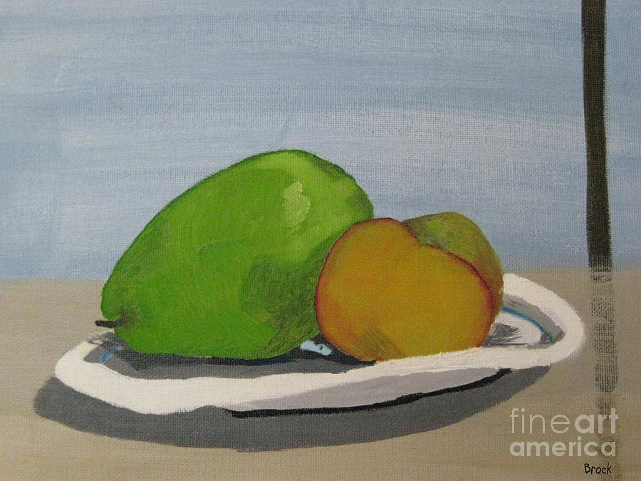 Still Life Painting - Lunch by Arin Brock