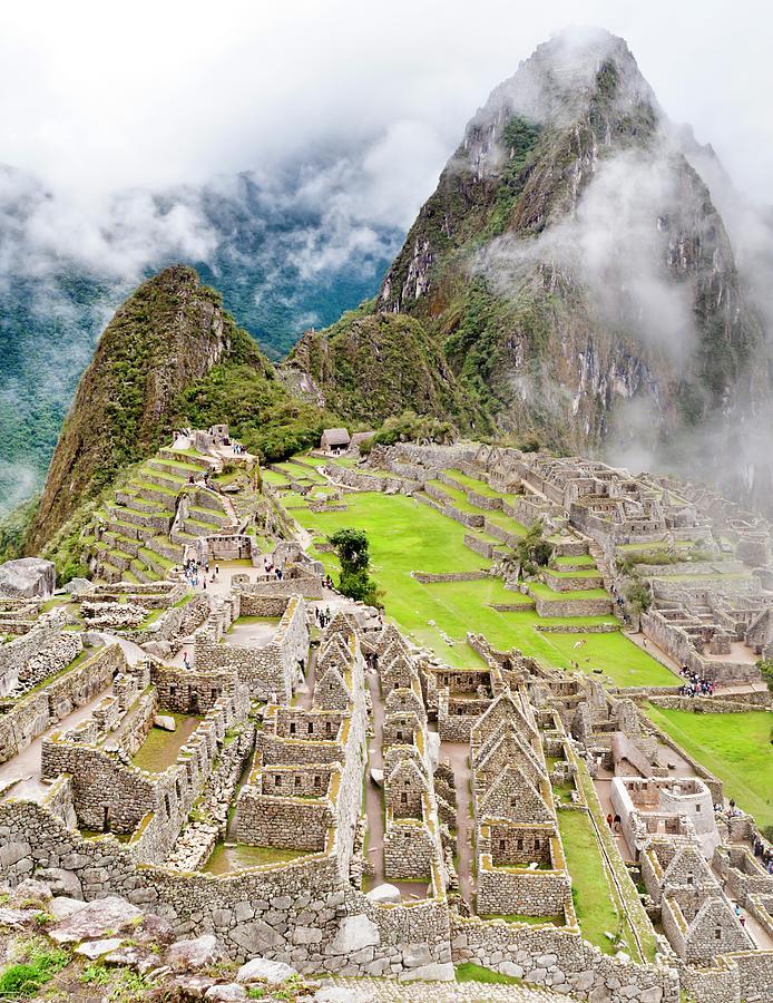Machu Picchu In Peru Photograph by Instamatics
