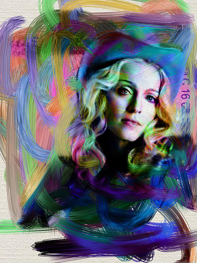 Madonna Digital Art - Madonna by Unknown