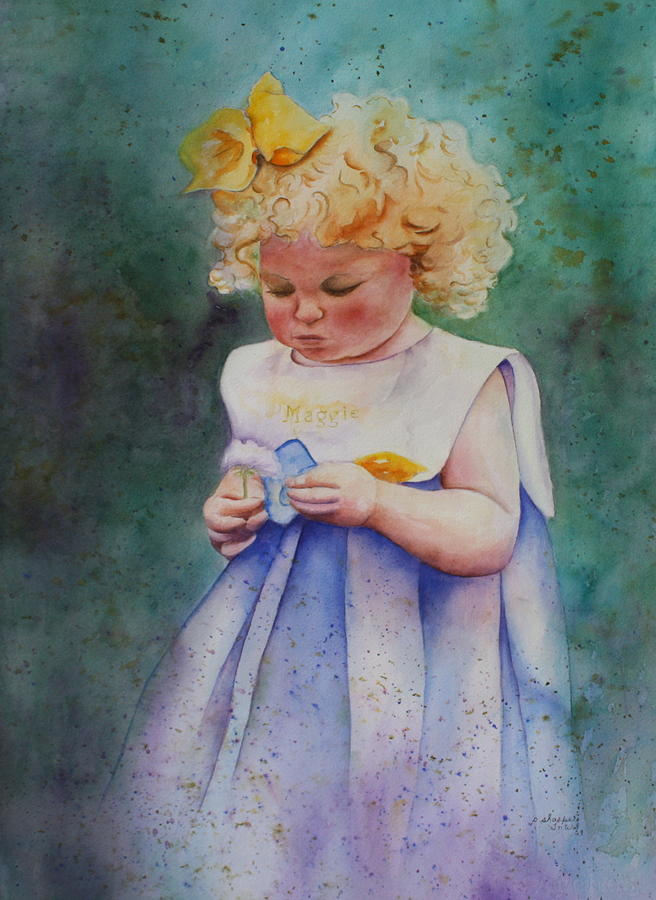 Maggie's Dandelion by Patsy Sharpe