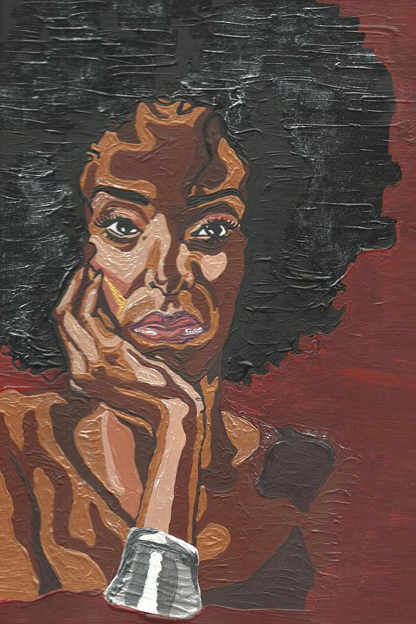 Model Painting - Mahogany by Rachel Natalie Rawlins