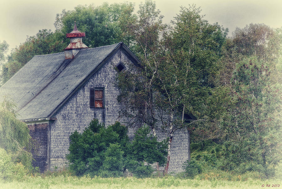 Architecture Photograph - Maine Countryside by Richard Bean