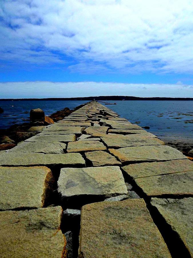 Landscape Photograph - Maine  by Dancingfire Brenda Morrell