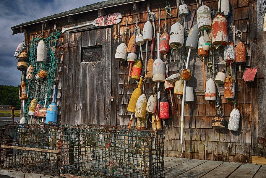 Maine Lobster Shack by Pamela Hodgdon