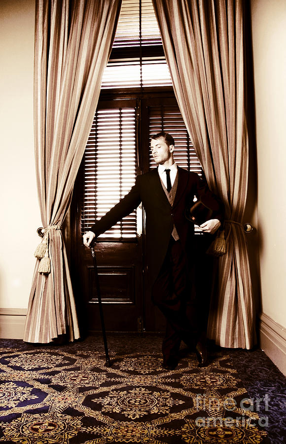 Adult Photograph - Male Servant by Jorgo Photography - Wall Art Gallery