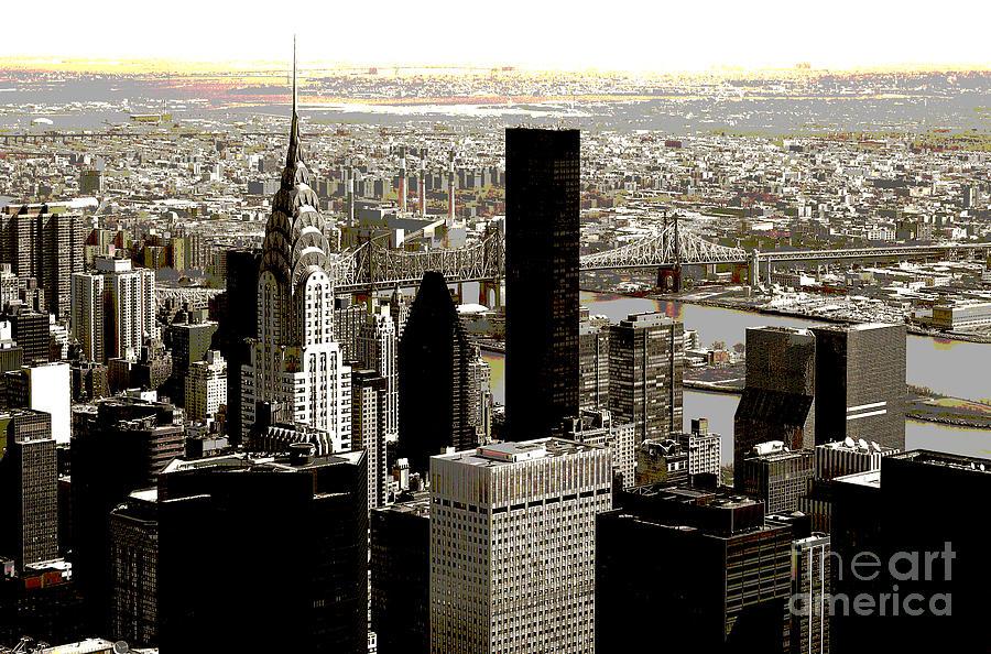 Bw Photograph - Manhattan by RicardMN Photography