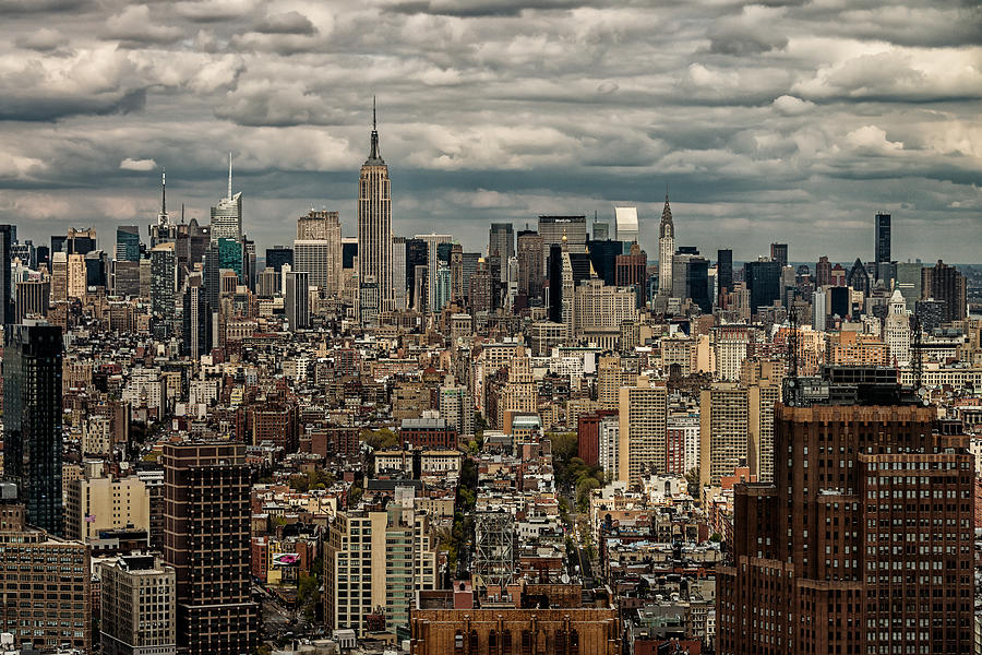 Manhattan Skyline by James Howe