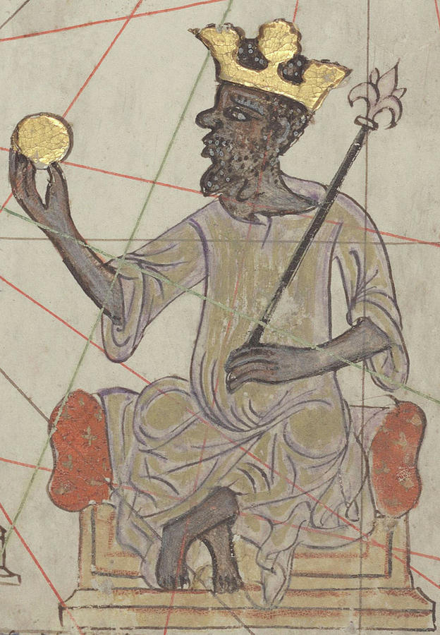 Africa Photograph - Mansa Musa, Emperor Of The Mali Empire by Science Source