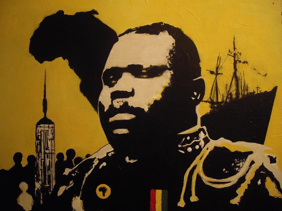 Marcus Garvey Painting By Robert Cunningham