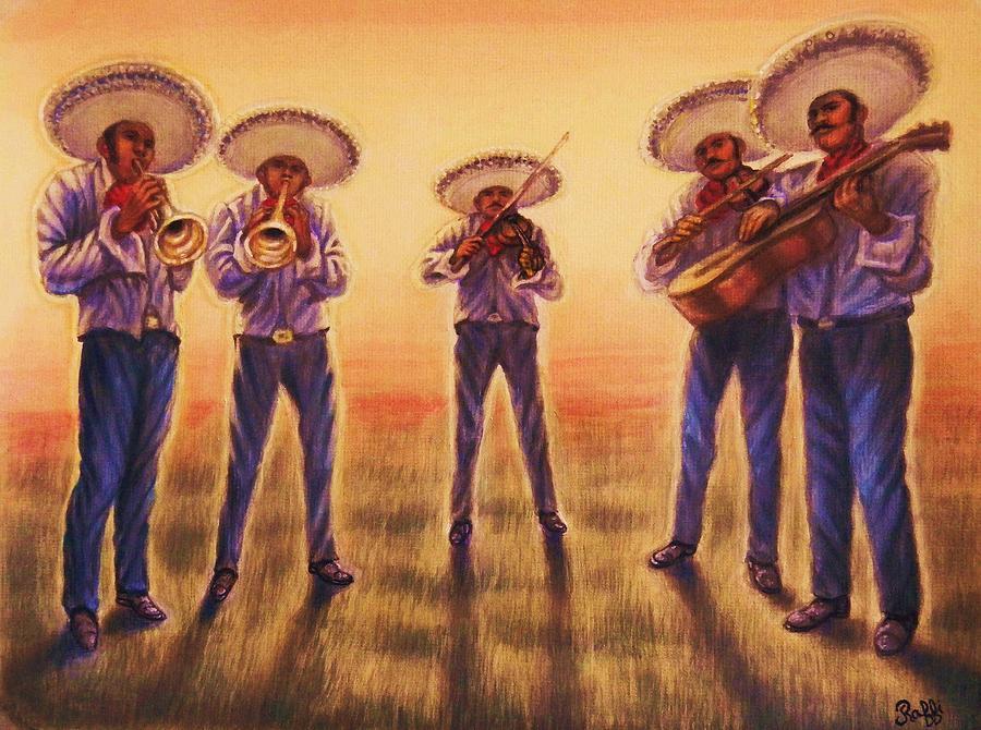 Mariachi Band Painting By Raffi Jacobian