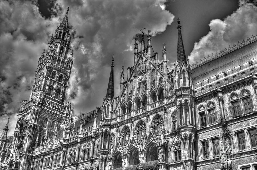 Marienplatz In Munich Photograph