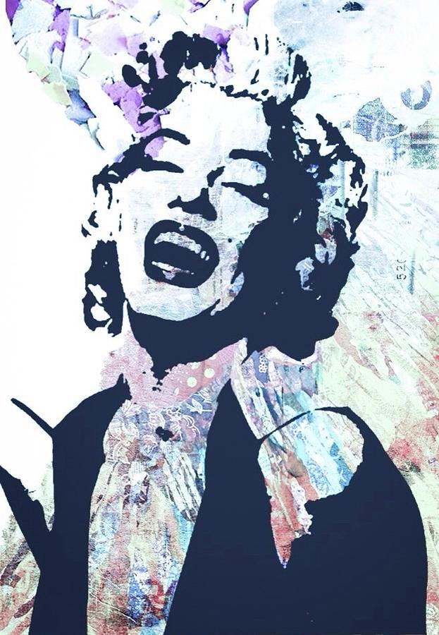 Marilyn Monroe Digital Art - Marilyn by Trisha Buchanan