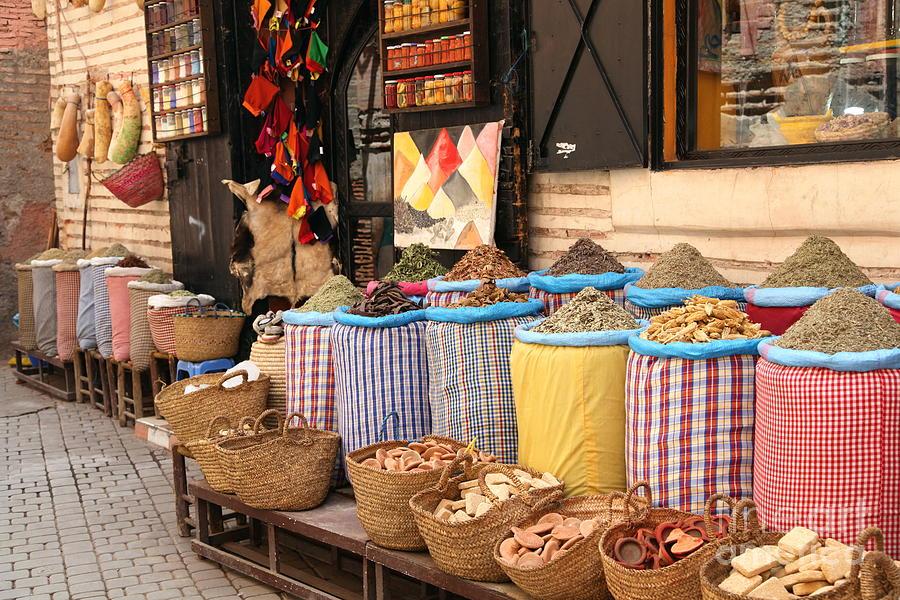 Marrakesh Photograph - Marrakesh Morocco by Sophie Vigneault