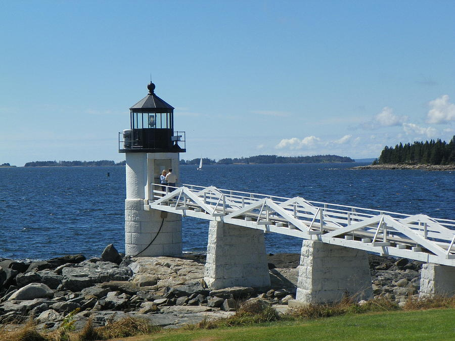 Marshall Point Lighthouse Photograph by Joseph Rennie