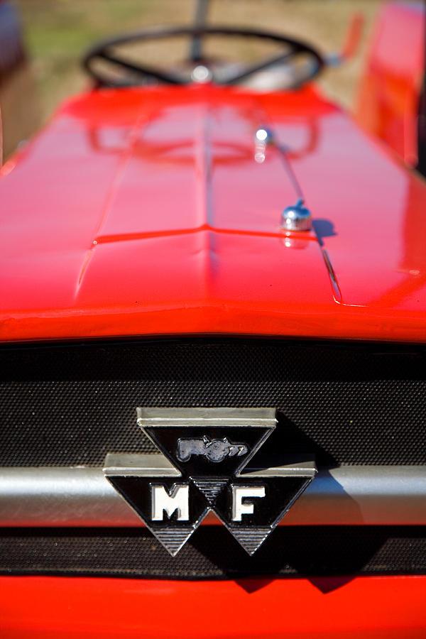 Ferguson Photograph - Massey Ferguson 135 Vintage Tractor by Paul Lilley